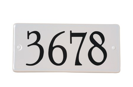 House numbers - 1720   Snoc